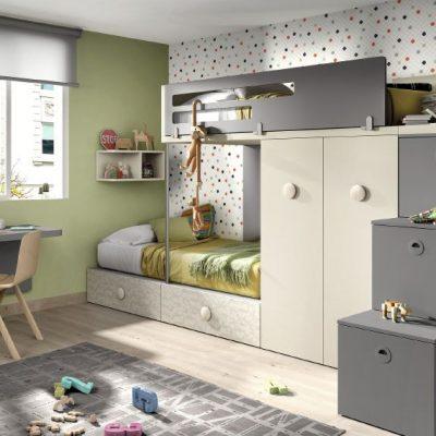 Briole dormitorio juvenil - Dormitorios juveniles merkamueble ...