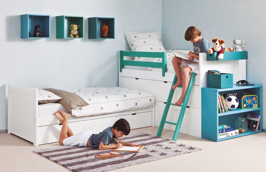 Briole dormitorio juvenil - Kinderzimmer kleiner raum ...