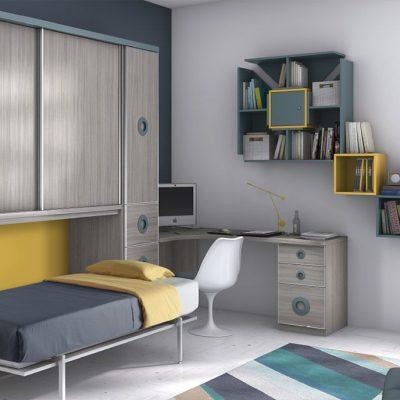 Briole dormitorio juvenil for Dormitorios juveniles modernos precios