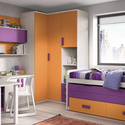 Briole dormitorio juvenil for Dormitorios juveniles precios